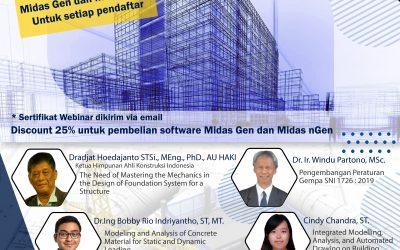 """Webinar: """"Perkembangan Terkini dalam Analisis, Desain, dan Rekayasa Konstruksi Bangunan"""""""