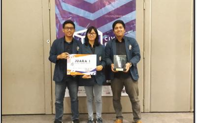 Mahasiswa Sipil Juara 1 Civex 2018